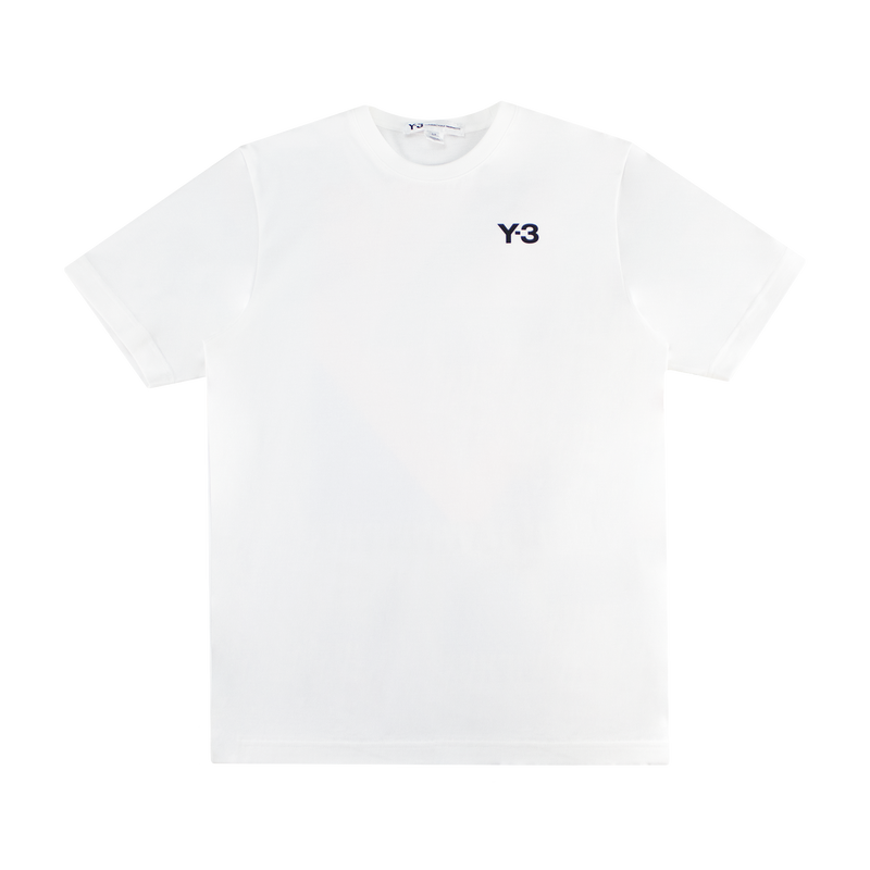 Y-3 Multi Block Graphic Tee [White]