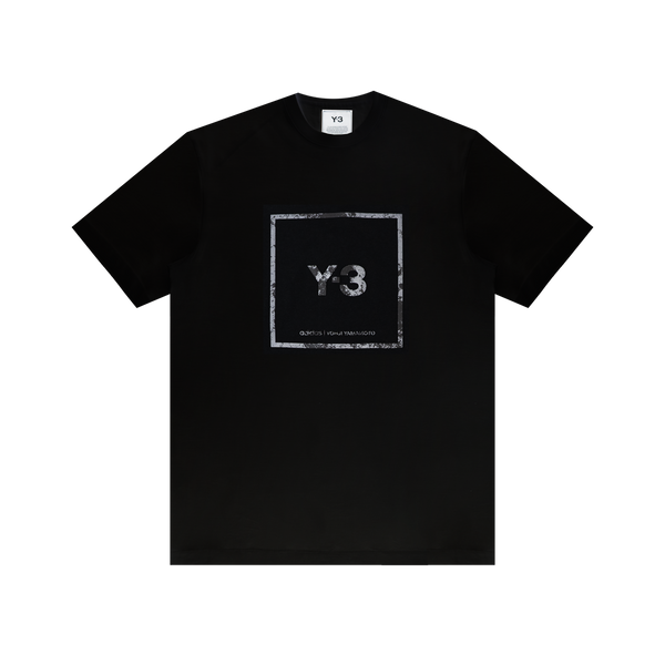 Y-3 Square Graphic Tee 'Black'