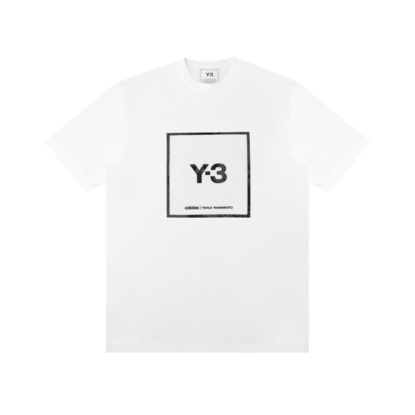 Y-3 Square Graphic Tee 'White'