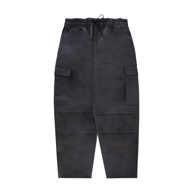Y-3 Winter Wool Cargo Pant [Charcoal]
