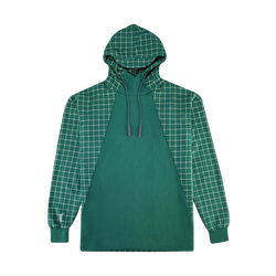 A-COLD-WALL* Grid Print Hoodie [Green]