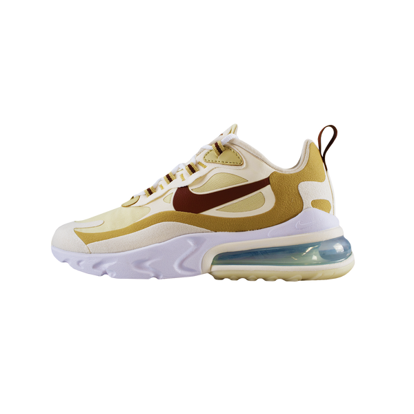Nike Air Max 270 React 'Club Gold/Light Bone' [AO4971-700]