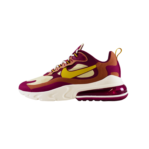 Nike Air Max 270 React 'Noble Red/Team Gold' [AO4971-601]