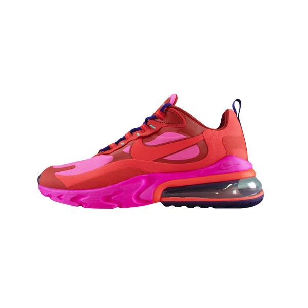 Nike Air Max 270 React 'Mystic Red/Pink Blast' [AO4971-600]