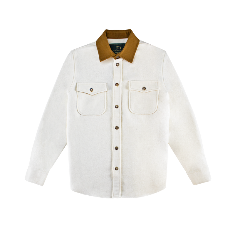 Aime Leon Dore x Woolrich Button Up [Parmesan]