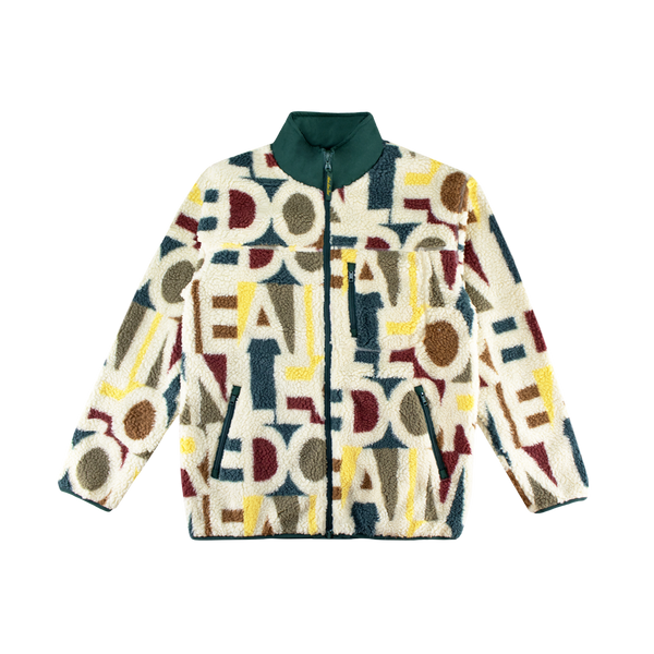 Aime Leon Dore Blown Print Polar Fleece [Botanical Green Combo]