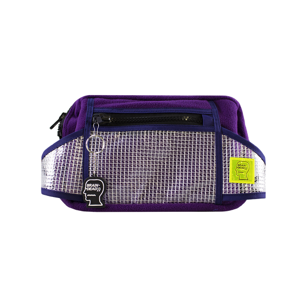 Brain Dead Rush Hour Fanny Pack [Purple/Navy]