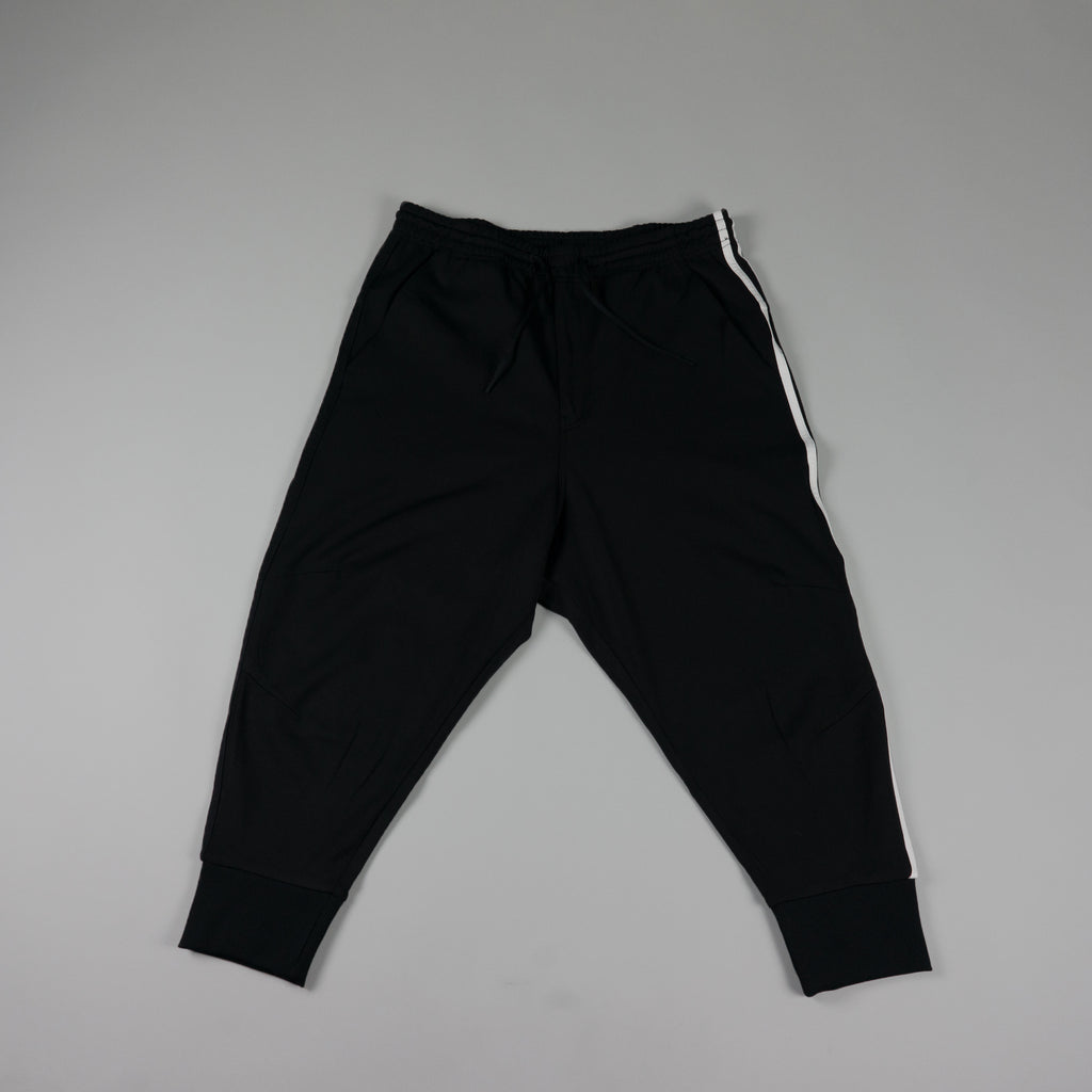 Y-3 Stripes Track Pant [Black/White]