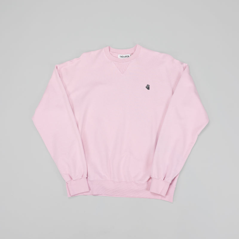 Tres Bien Merch Sweatshirt [Pink]