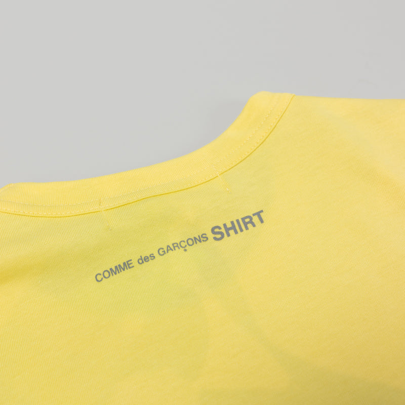 COMME des GARÇONS SHIRT Turkish T-Shirt [Light Yellow]