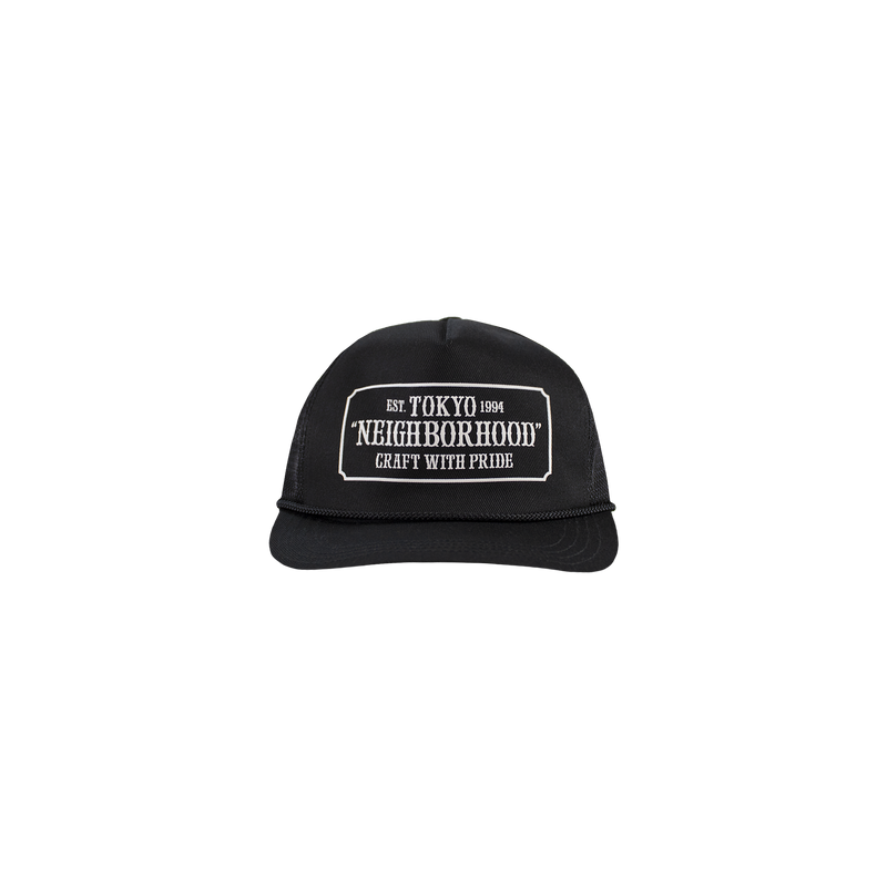 Neighborhood WP Trucker Cap [Black]
