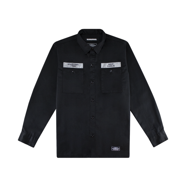 Neighborhood Classic Work Shirt [Black]