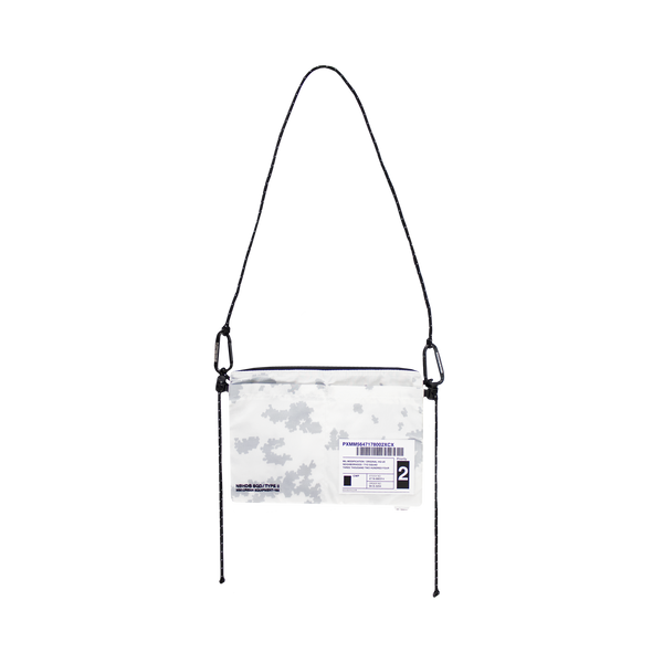 Neighborhood Mil-Sacoche Shoulder Bag [White]