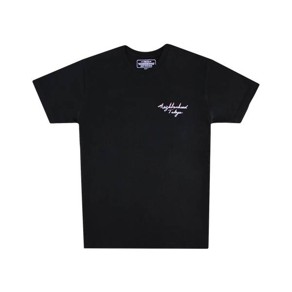 Neighborhood Emb-2 S/S Crew [Black]