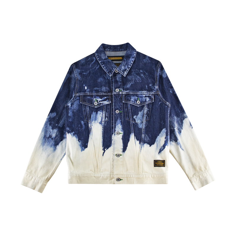 Neighborhood Bleach Stockman Type-C Jacket [Indigo]