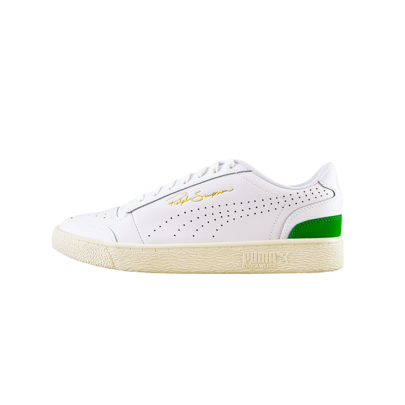 Puma Ralph Sampson Lo Perf Soft 'White/Green' [372395-01]