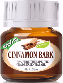 100% Pure Therapeutic Grade Cinnamon Bark Essential Oil