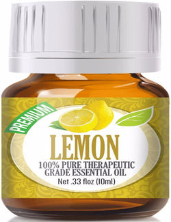 100% Pure Therapeutic Grade Lemon Essential Oil