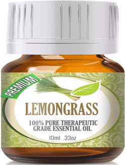 100% Pure Therapeutic Grade Lemongrass Essential Oil