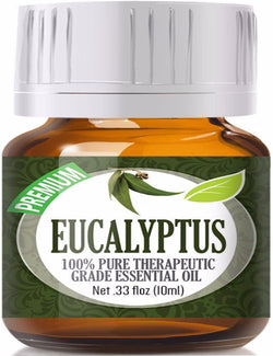 100% Pure Therapeutic Grade Eucalyptus Essential Oil