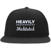 Heavily Meditated Flat Bill Snapback Hat