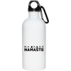 Namaste 20 oz Stainless Steel Water Bottle