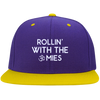 Rollin With The Omies Flat Bill Snapback Hat