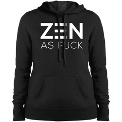 Zen As F*ck Ladies Pullover Hooded Sweatshirt