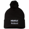 Heavily Meditated Pom Pom Knit Cap