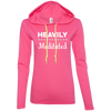 Heavily Meditated Ladies Long Sleeve T-Shirt Hoodie