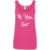 My Yoga Shirt Ladies' 100% Ringspun Cotton Tank Top