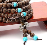 Natural Wooden Mala Meditation Bracelet (FAST USA SHIPPING)