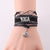 Infinity Love Leather Yoga Charm Bracelet (Choose Your Color)