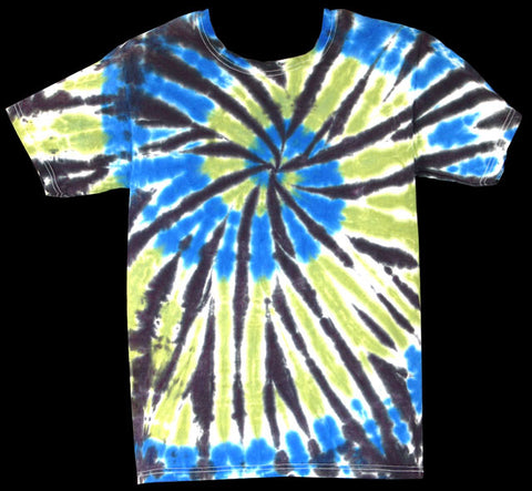 Men's Urban Rainbow Tie Dye T-Shirt