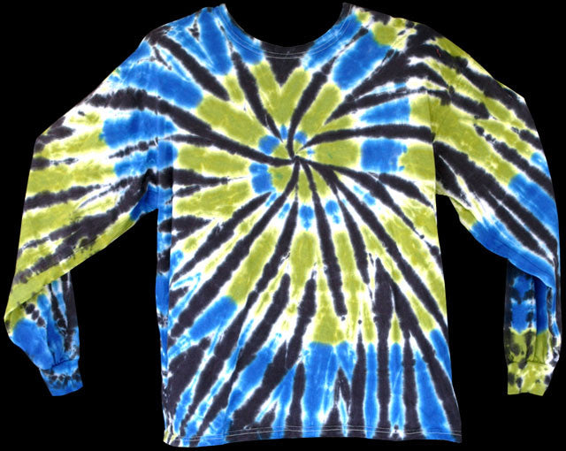 Men's BGB Spiral Tie Dye Long Sleeve