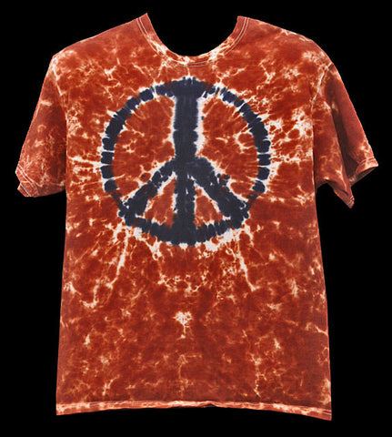 Men's Dark Star Mandala Tie Dye Long Sleeve