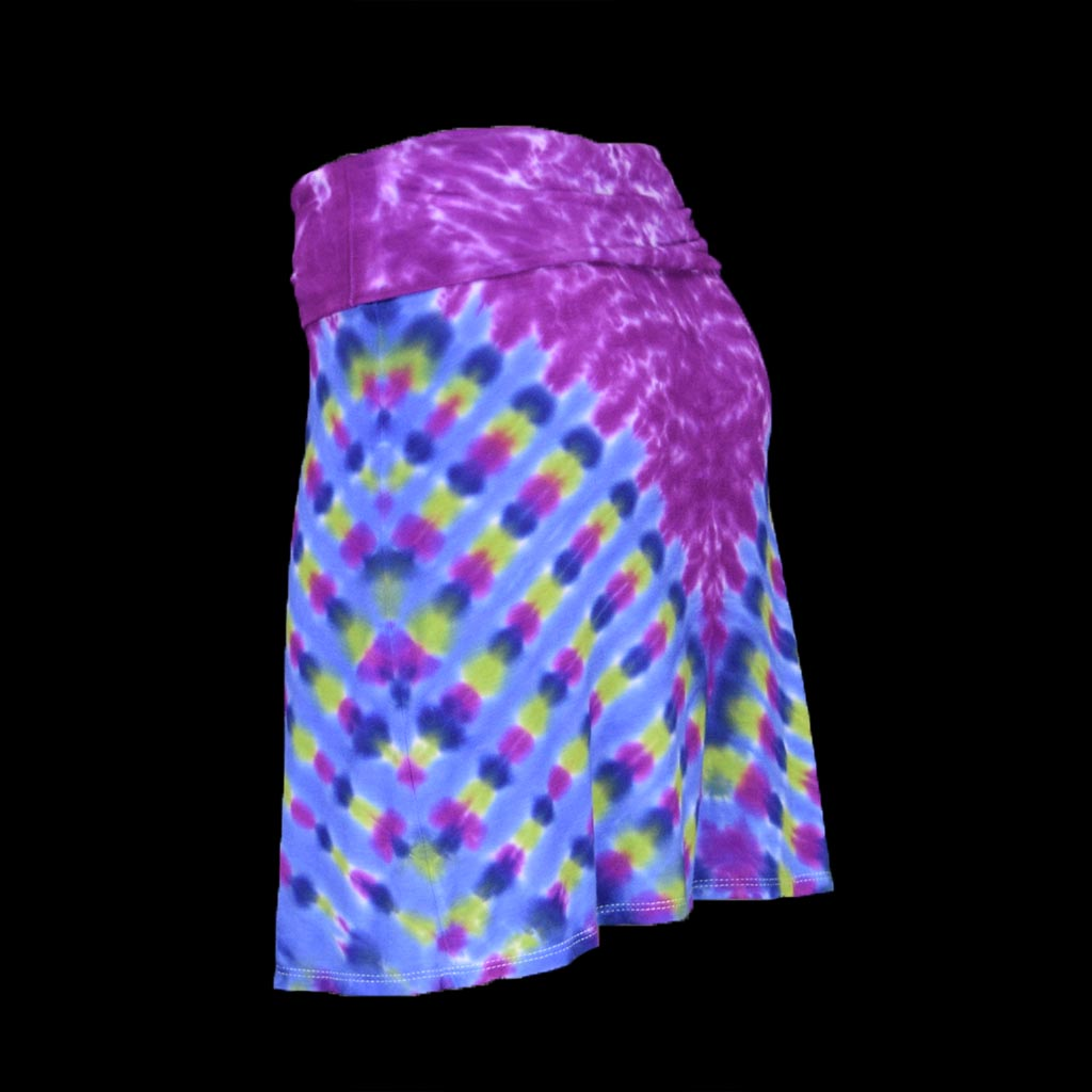 Purple Pasture Swing Skirt