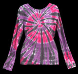 Women's Party Tie Dye Long Sleeve