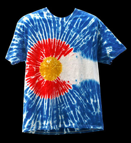 Men's Short Sleeve Colorado Flag© Shirt
