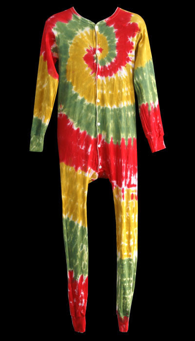 Rasta Spiral Union Suit