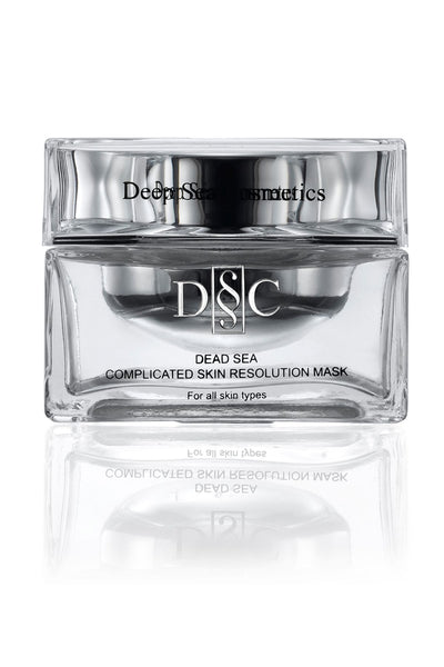 Deep Sea Cosmetics - Dead Sea Complicated Skin Resolution Mask