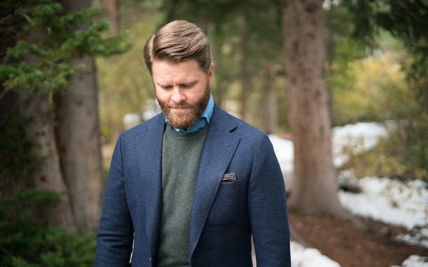 How to wear a suit jacket as a blazer