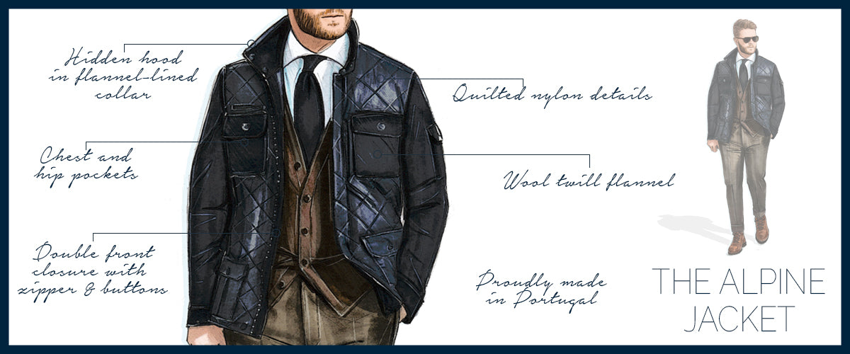 Quilted Alpine Jacket