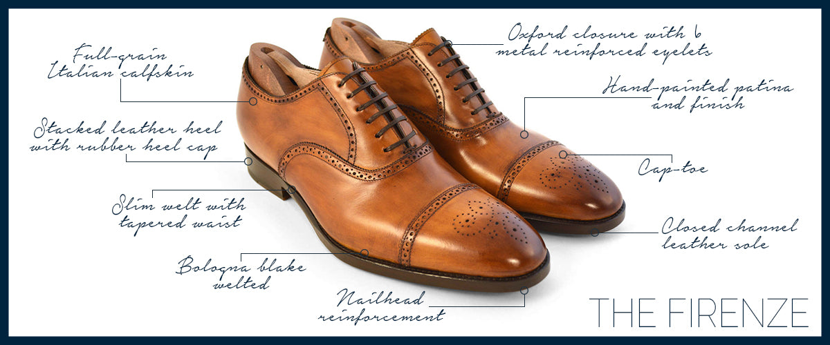Brown Half Brogue Oxford