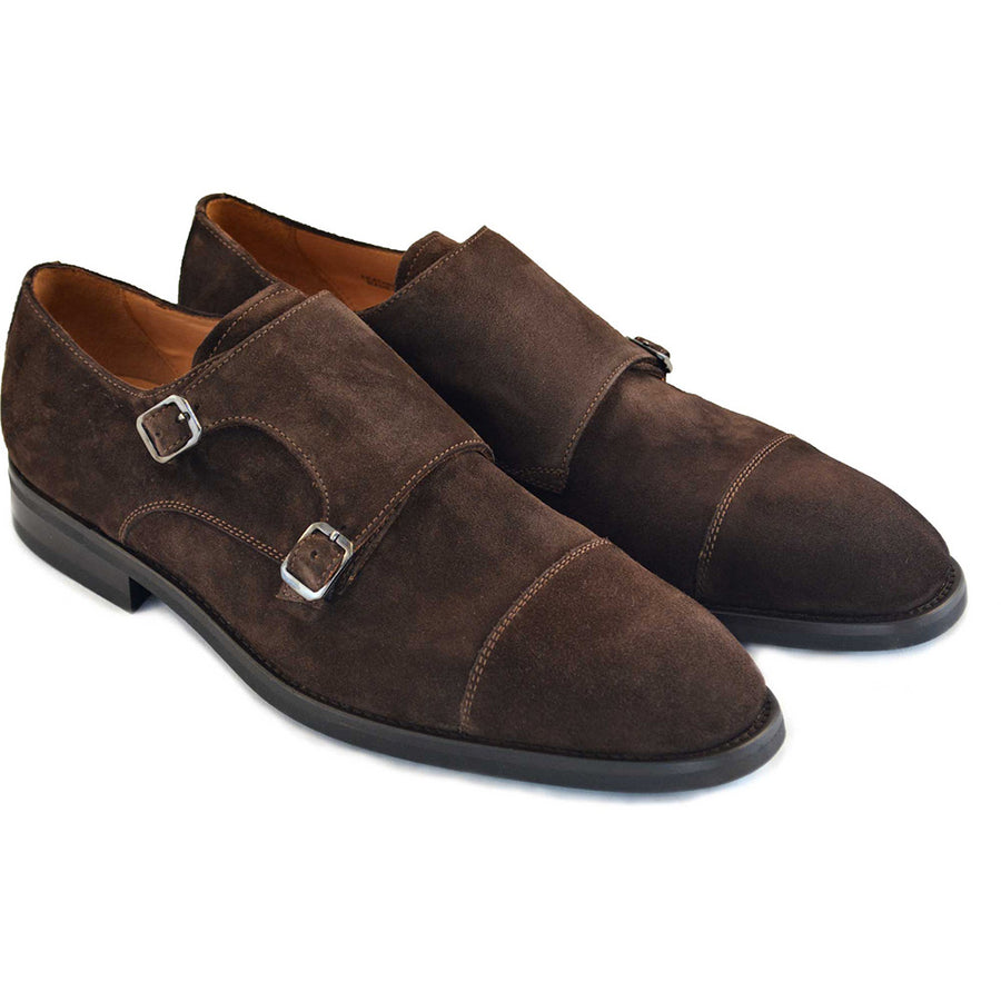 Regent Brown Double Monk Strap