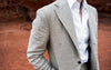 Safari Tan Linen Suit - Beckett & Robb