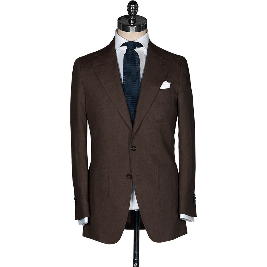 Brown Linen Sport Coat - Beckett & Robb