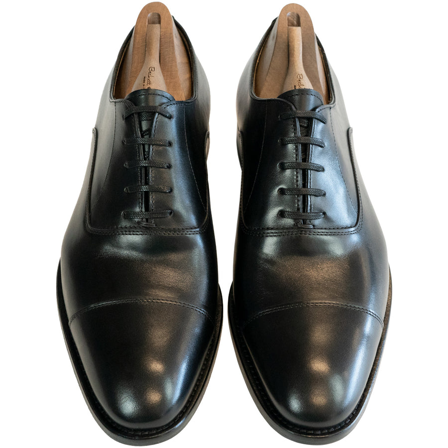 Tiber Black Cap Toe - Beckett & Robb