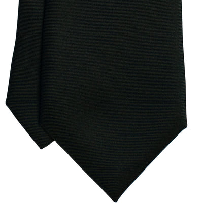 Black Silk Tie - Beckett & Robb