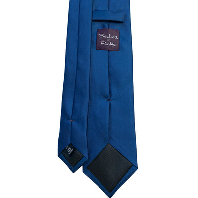 Blue Silk Tie - Beckett & Robb